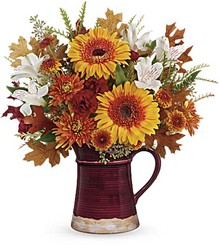 Teleflora's Blooming Fall Bouquet from Young Floral Co in Charleston, WV