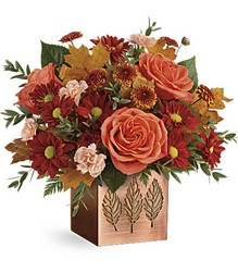 Teleflora's Copper Petals Bouquet from Young Floral Co in Charleston, WV