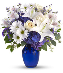 Beautiful in Blue from Young Floral Co in Charleston, WV