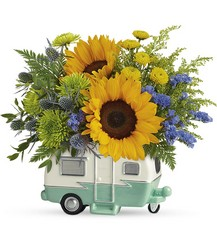 Retro Road Tripper Bouquet from Young Floral Co in Charleston, WV