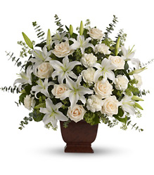 Teleflora's Loving Lilies and Roses Bouquet from Young Floral Co in Charleston, WV