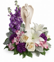Teleflora's Angel Of Grace Bouquet  from Young Floral Co in Charleston, WV