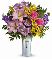 Teleflora's Bright Life Bouquet from Young Floral Co in Charleston, WV