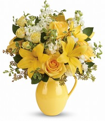 Teleflora's Sunny Outlook Bouquet from Young Floral Co in Charleston, WV