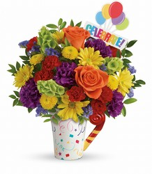 Teleflora's Celebrate You Bouquet from Young Floral Co in Charleston, WV