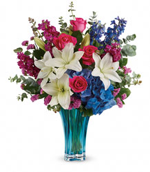 Teleflora's Ocean Dance Bouquet from Young Floral Co in Charleston, WV