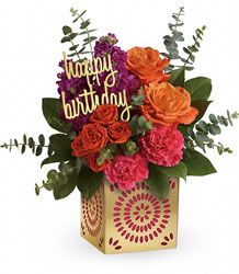 Teleflora's Birthday Sparkle Bouquet from Young Floral Co in Charleston, WV