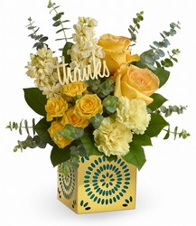 Teleflora's Shimmer Of Thanks Bouquet from Young Floral Co in Charleston, WV