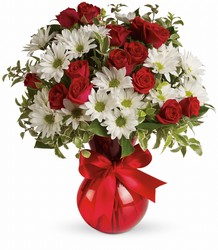 Red White And You Bouquet by Teleflora from Young Floral Co in Charleston, WV