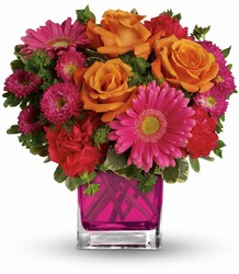 Teleflora's Turn Up The Pink Bouquet from Young Floral Co in Charleston, WV