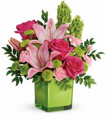 Teleflora's In Love With Lime Bouquet from Young Floral Co in Charleston, WV