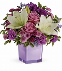 Teleflora's Pleasing Purple Bouquet from Young Floral Co in Charleston, WV