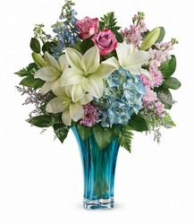 Teleflora's Heart's Pirouette Bouquet from Young Floral Co in Charleston, WV