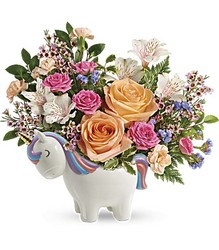 Magical Garden Unicorn Bouquet from Young Floral Co in Charleston, WV
