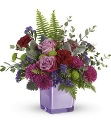Purple Serenity Bouquet from Young Floral Co in Charleston, WV