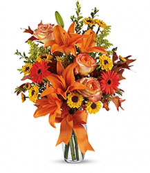 Burst of Autumn Deluxe from Young Floral Co in Charleston, WV