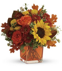 Teleflora's Hello Autumn Bouquet from Young Floral Co in Charleston, WV