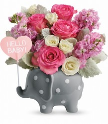 Hello Sweet Baby - Pink from Young Floral Co in Charleston, WV