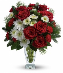 Teleflora's Winter Kisses Bouquet from Young Floral Co in Charleston, WV