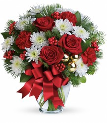 Merry Beautiful Bouquet from Young Floral Co in Charleston, WV