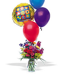 Balloons and a Boost from Young Floral Co in Charleston, WV
