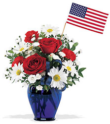 Teleflora's Spirit of America from Young Floral Co in Charleston, WV